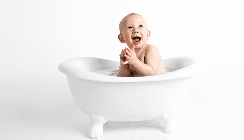 Las Mejores bañeras para bebé