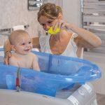 Bañera De Bebé Con Manguera