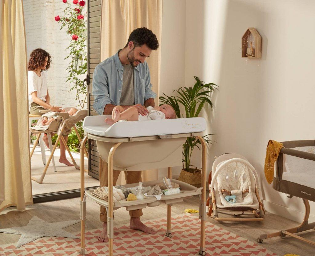 banera de bebe con patas jane