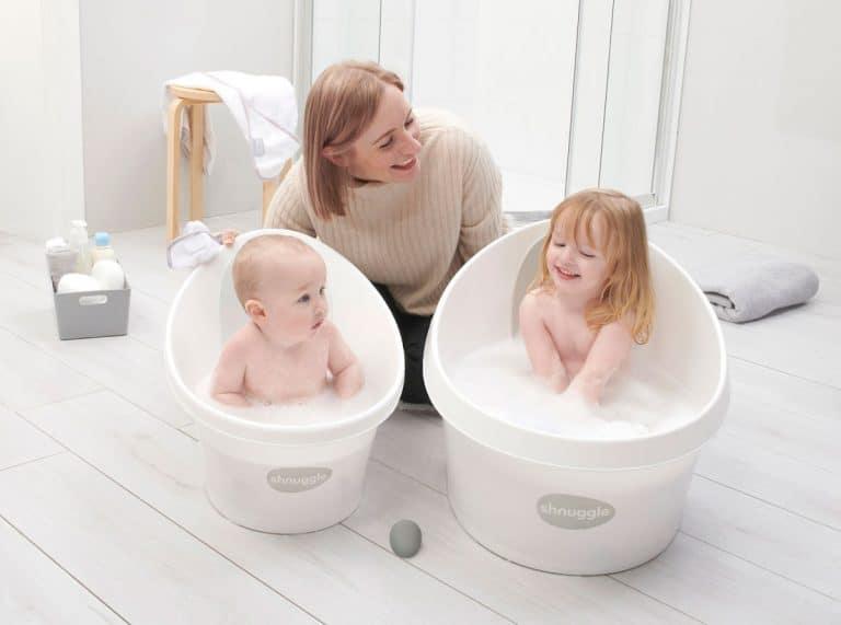 Bañera De Bebé Con Ruedas