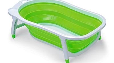Bañera De Bebé Kiokids Karibu Plegable
