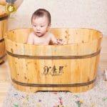 Bañera De Bebé Madera