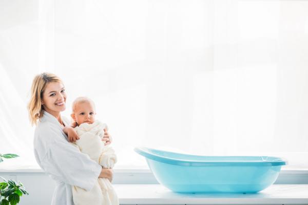 Bañera De Bebé Pequeña