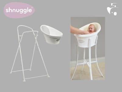 Bañera De Bebé Shnuggle Con Patas