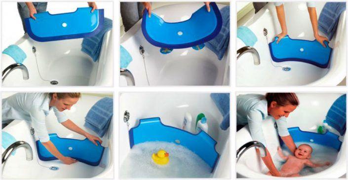 Bañera De Bebé Tummy Tub