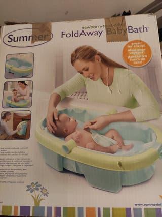Bañera Plegable Bebé Summer Compacta