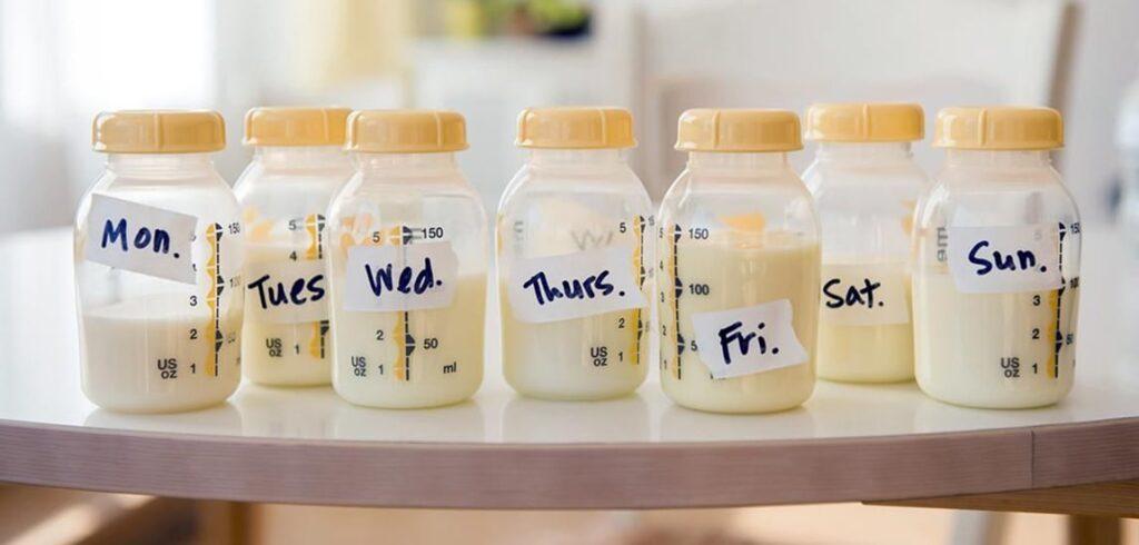 biberon tras lactancia materna
