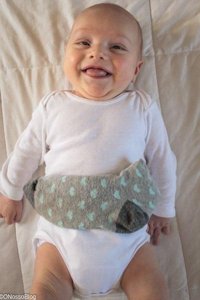 Bolsa Térmica Colica Bebé Ervas