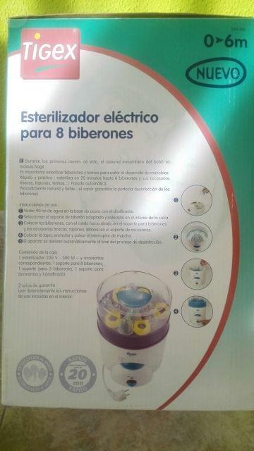 Esterilizador De Biberones Tigex