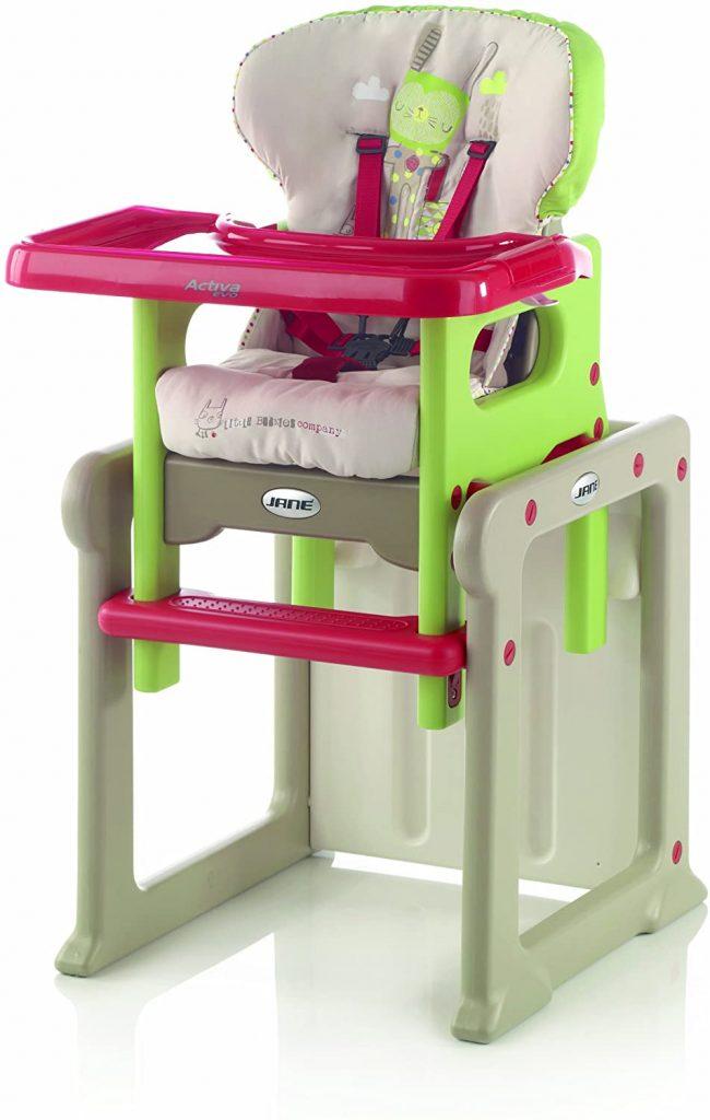 trona convertible en mesa y silla jane