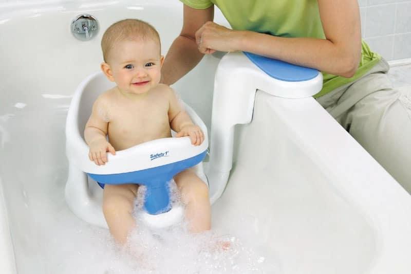 silla para banar al bebe en la banera