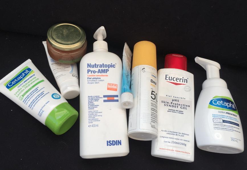 crema hidratante para bebe con dermatitis atopica
