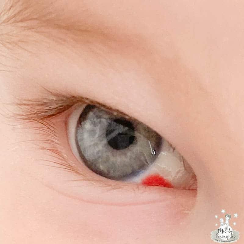 crema ojos bebe