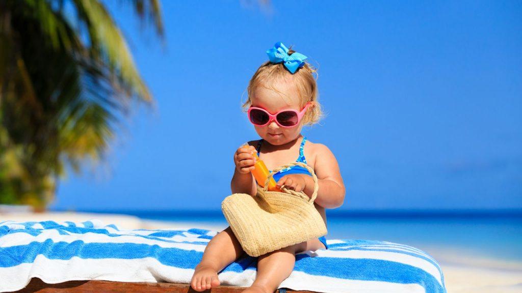 crema solar factor fisico bebe